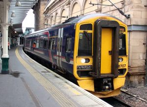 Class 158 operating on the Far North Line RETB Network