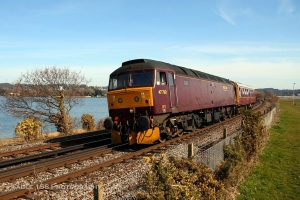 Class 47 locos are fitted with RETB equipment to operate on RETB routes
