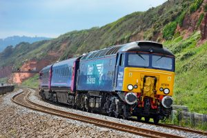Class 57 locos can operate in RETB regions when fitted with Comms Design's equipment