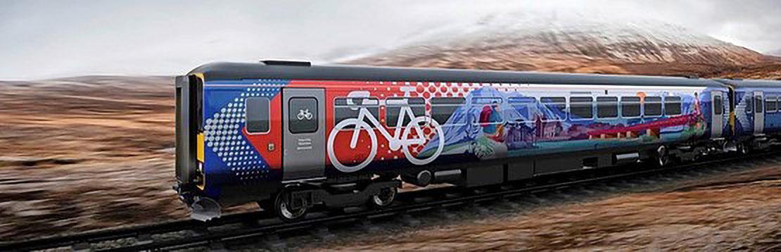 ScotRail Class 153 Bike Train